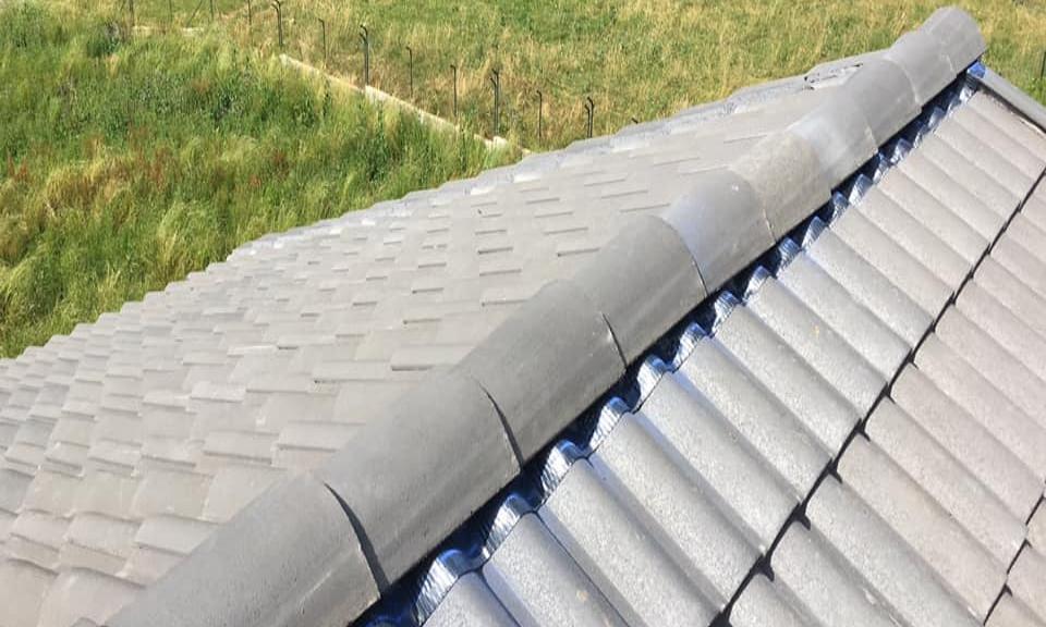 Cumbrera de tejado en Carrizo