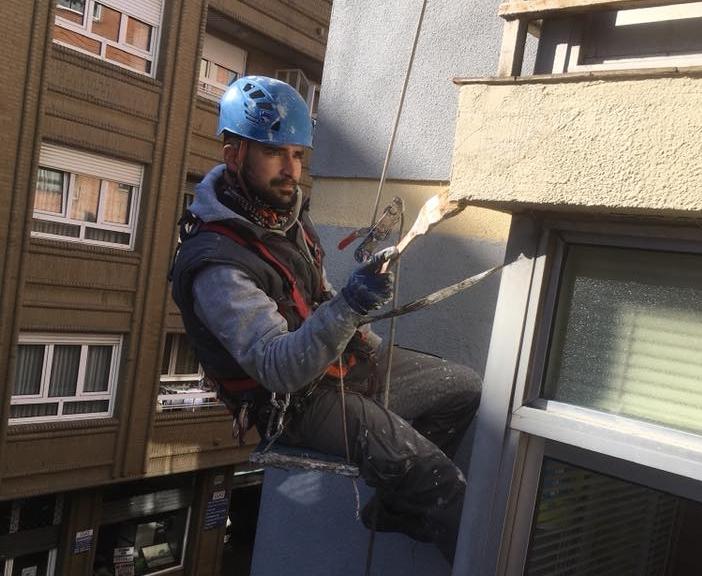 Reparación de forjado de terraza