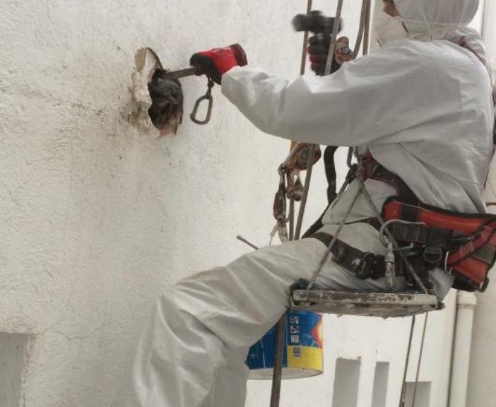 Bajantes de amianto en Carrizo