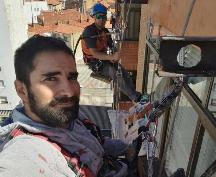 Trabajos verticales de altura