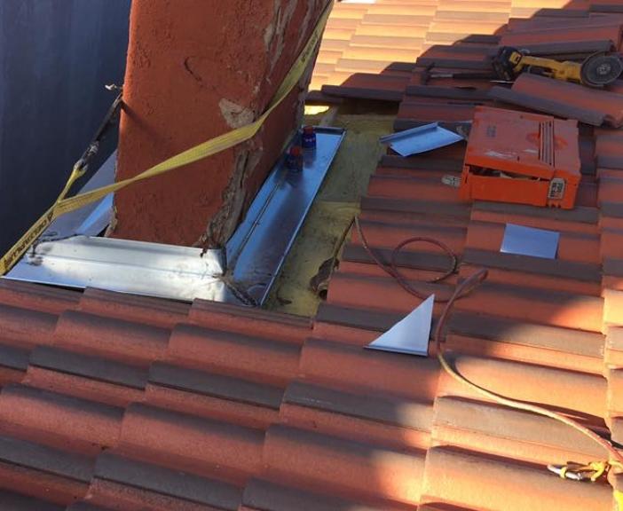 Reparación de chimeneas de tejado